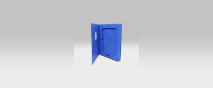 Fahrzeugübergabebox mit Inlay